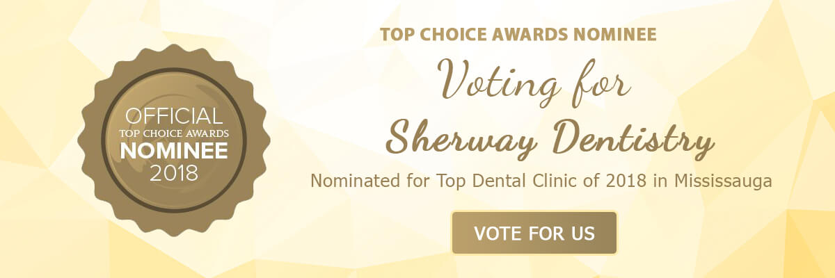Nominated for Top Dental Clinic of 2018 in Mississauga